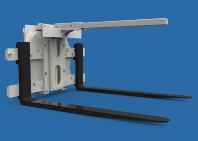 Hydraulic Bin Retainer