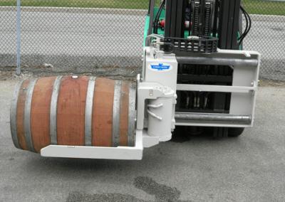 Wine Barrel Handler